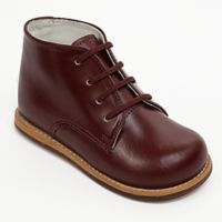 Josmo® Size 6 Boys' Leather Walk Shoe in Burgundy