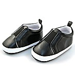 Rising Star™ Size 9-12M Gore Patch Shoe in Black