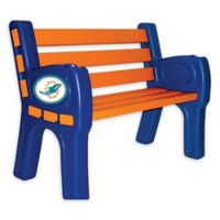 NFL Miami Dolphins Outdoor Park Bench