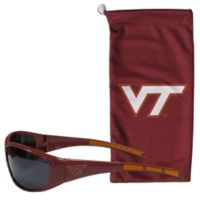 Virginia Tech Sunglasses and Bag Set