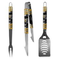 NHL Pittsburgh Penguins 3-Piece Tailgater BBQ Grill Tool Set