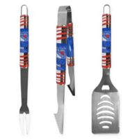 NHL New York Rangers 3-Piece Tailgater BBQ Grill Tool Set