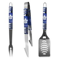 NHL Toronto Maple Leafs 3-Piece Tailgater BBQ Grill Tool Set