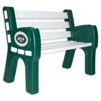 NFL New York Jets Outdoor Park Bench