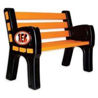NFL Cincinnati Bengals Outdoor Park Bench