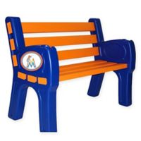 MLB Florida Marlins Outdoor Park Bench