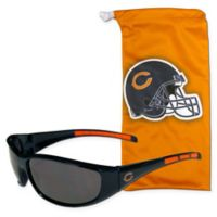 NFL Chicago Bears Sunglasses with Microfiber Bag Set
