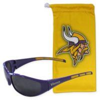 NFL Minnesota Vikings Sunglasses with Microfiber Bag Set