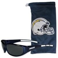 NFL Los Angeles Chargers Sunglasses with Microfiber Bag Set