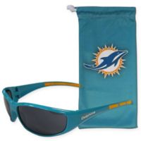 NFL Miami Dolphins Sunglasses with Microfiber Bag Set