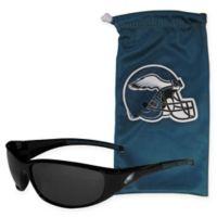 NFL Philadelphia Eagles Sunglasses with Microfiber Bag Set