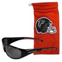 NFL Atlanta Falcons Sunglasses with Microfiber Bag Set