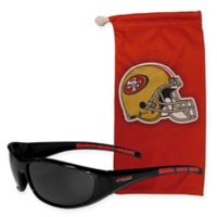 NFL San Francisco 49ers Sunglasses with Microfiber Bag Set