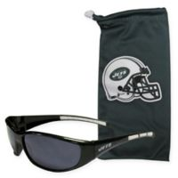 NFL New York Jets Sunglasses with Microfiber Bag Set