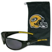 NFL Green Bay Packers Sunglasses with Microfiber Bag Set