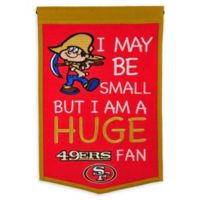 NFL San Francisco 49ers Lil Fan Traditions Banner