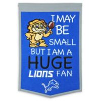 NFL Detroit Lions Lil Fan Traditions Banner