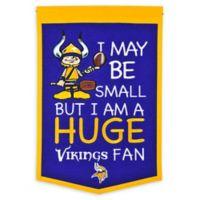NFL Minnesota Vikings Lil Fan Traditions Banner
