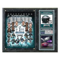 NFL Philadelphia Eagles Super Bowl LII Champions Composite Plaque
