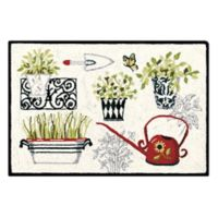 C&F Home Herbs 2' x 3' Accent Rug in Cream