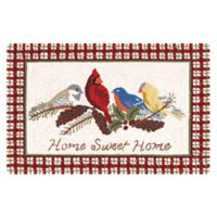 """C&F Home """"Home Sweet Home"""" 2' x 3' Accent Rug in Cream"""