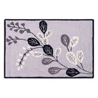 Geneva 2' x 3' Hand-Hooked Accent Rug in Silver