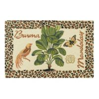 """Burma/Mandalay"" 2' x 3' Wool Accent Rug in Tan"