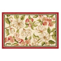 Custis Garden 2' x 3' Wool Accent Rug in Cream