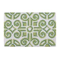 Boxwood Abbey 2' x 3' Wool Accent Rug in Green