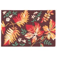 C&F Home 2' x 3' Adirondacks Accent Rug in Brown