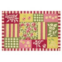 C&F Home 2' x 3' Meredith Accent Rug in Red