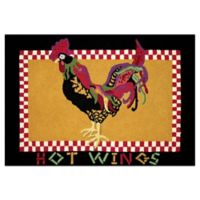 C&F Home 2' x 3' Hot Wings Accent Rug in Orange