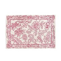 C&F Home 2' x 3' Toile Accent Rug in Red