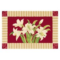 C&F Home 2' x 3' Lily Accent Rug in Red