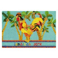 C&F Home 2' x 3' Jamaican Jerk Accent Rug in Blue