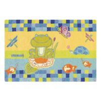 C&F Home 2' x 3' By the Pond Accent Rug in Blue