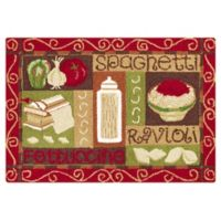 C&F Home 2' x 3' Spaghetti Accent Rug in Red