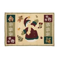 C&F Home 2' x 3' Winterland Fun Accent Rug in Cream