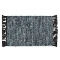 VCNY Home Flatweave Reversible 1-Foot 8-Inch x 2-Foot 6-Inch Accent Rug in Blue