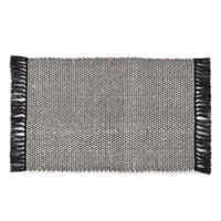 VCNY Home Flatweave Reversible 2-Foot 6-Inch x 3-Foot 10-Inch Accent Rug in Natural