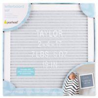 Pearhead® Felt Letter Board Set in Grey