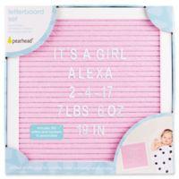 Pearhead® Felt Letter Board Set in Pink