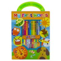 """Pikids Just My Size Library """"My First Words"""""""