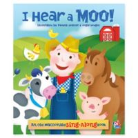 """I Hear A Moo"" Board Book Illustrated by Pamela Seatter and Angie Hodges"