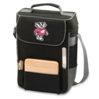 Picnic Time® Collegiate Duet Insulated Cooler Tote - University of Wisconsin