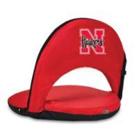Picnic Time® University of Nebraska Collegiate Oniva Seat in Red