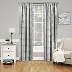 SolarShield® Willis 84-Inch Rod Pocket Room Darkening Window Curtain Panel in Grey