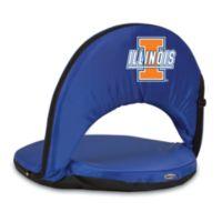 Picnic Time® University of Illinois Collegiate Oniva Seat in Navy Blue