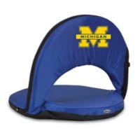 Picnic Time® University of Michigan Collegiate Oniva Seat in Navy Blue