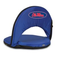 Picnic Time® University of Mississippi Collegiate Oniva Seat in Navy Blue